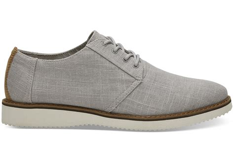 gray dress shoes grey linen s dress shoes toms 174