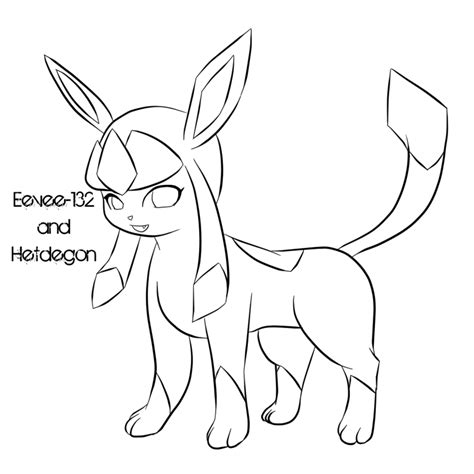 pokemon coloring pages glaceon pokemon glaceon coloring pages images pokemon images