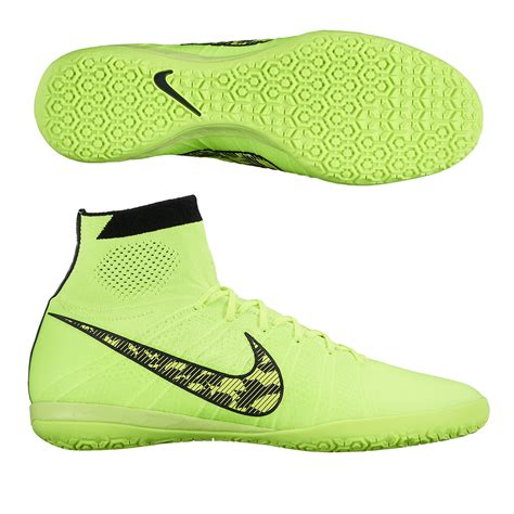 soccer indoor shoes nike elastico superfly ic indoor soccer shoes volt black
