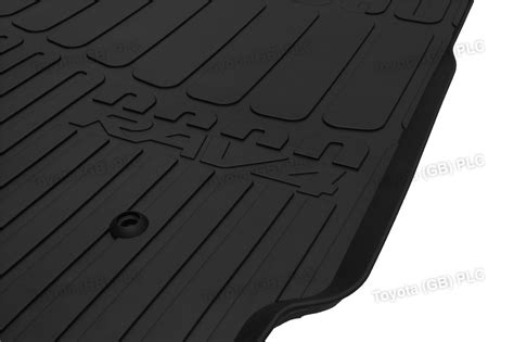 Toyota Rubber Car Mats Genuine Toyota 4x Tailored Car Rubber Floor Mats Rav4 11