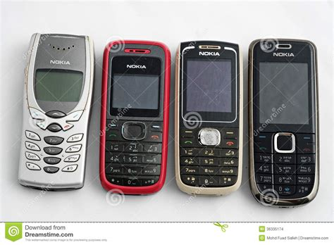 nokia old mobile picture nokia old mobile phones editorial stock image image