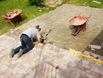 diy patio paver base how to lay pavers brick patio and pavers diy guide
