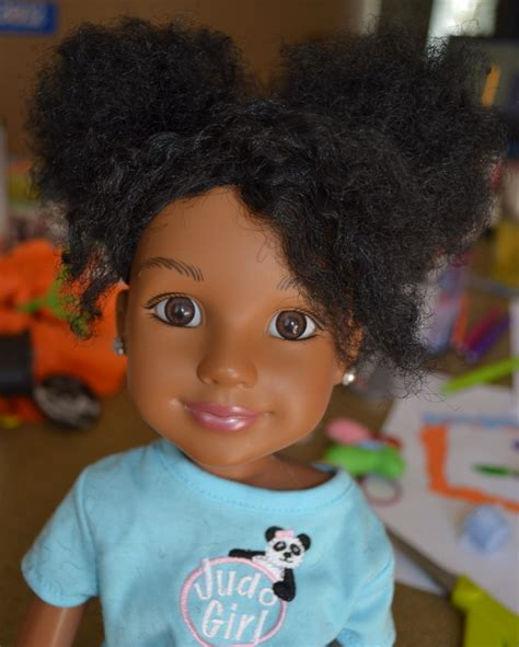 in black 2 doll braids and beyond hair for dolls tutorial