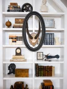 bookshelves decorating ideas bookshelf and wall shelf decorating ideas hgtv