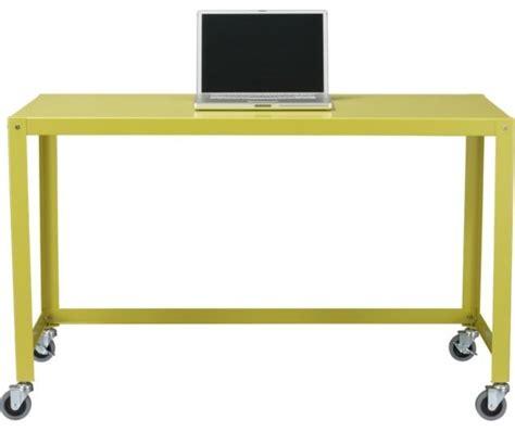 Cart Desk by Go Cart Chartreuse Desk Desks And Hutches