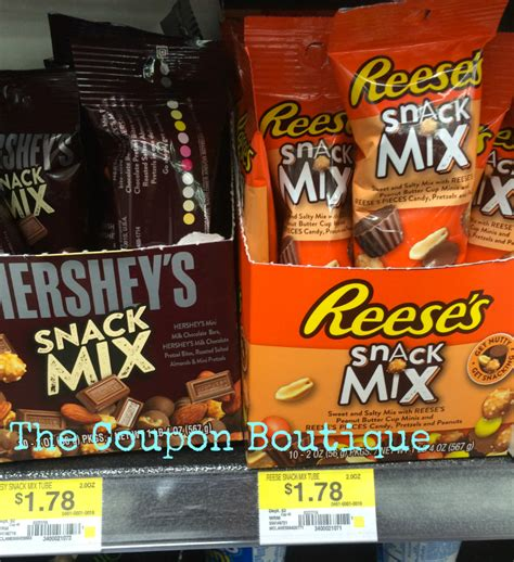 Hershey Snacks Mix hershey snack mix only 78 at walmart reg price 1 78