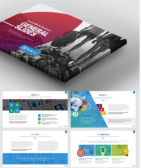 keynote brochure template choice image templates design