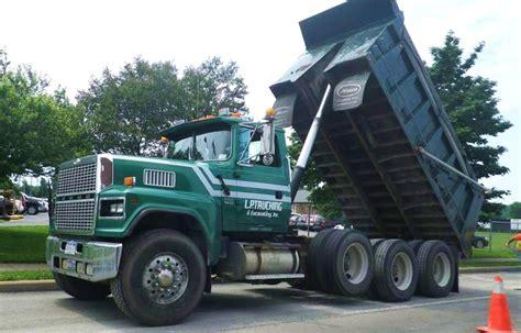 ford ltl 9000 dump truck ford ltl9000 ford big rigs pinterest ford dump