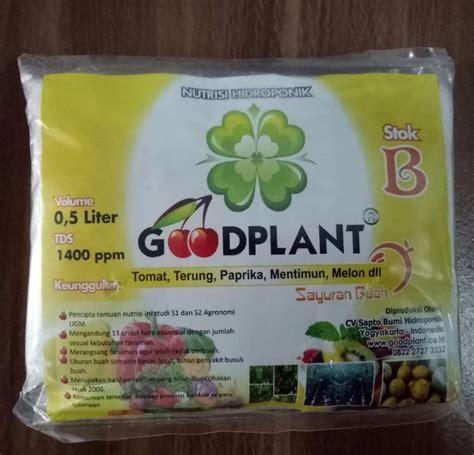 Harga Nutrisi Hidroponik Goodplant goodplant nutrisi ab mix buah 0 5 liter bibitbunga