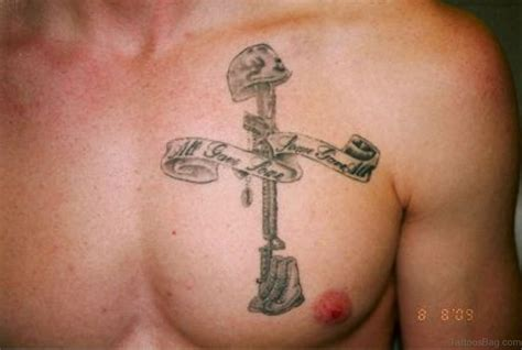 fancy cross tattoo 75 stylish cross tattoos for chest