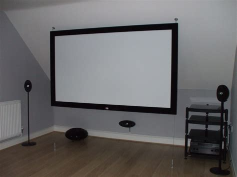 How To Mount A Projector Screen On The Ceiling by Build Your Own Home Cinema The 3 Secrets Of A Stunning