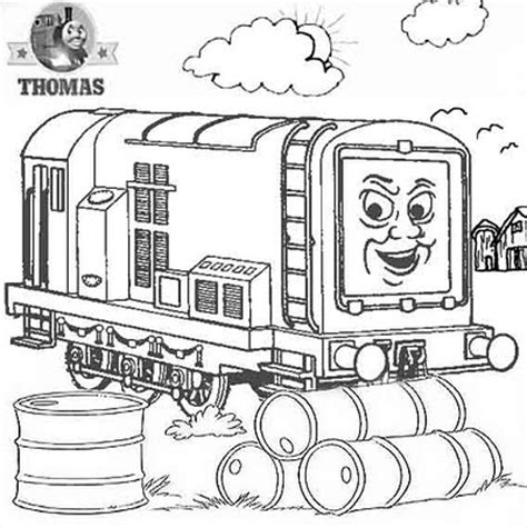 diesel 10 coloring pages thomas and friends diesel does