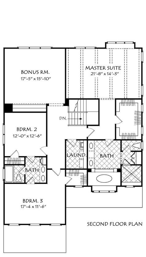 DARBY HILL House Floor Plan   Frank Betz Associates