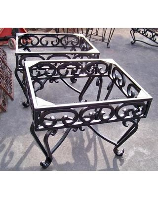 wrought iron table base for sale sales on wrought iron end tables heavy wrought