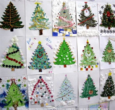 manualidades arbol de navidad originales 193 rboles de navidad originales hechos por ni 241 os manualidades infantiles