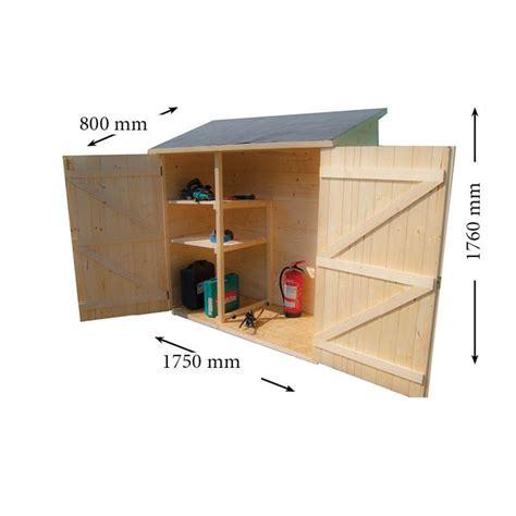 petit abris de jardin en bois petit abri de rangement en bois massif certifi 233 1 40m 178 16 mm avec plancher