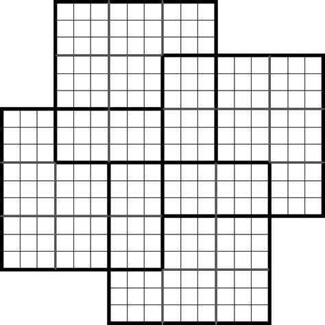 sudoku samoura 239 sp 233 cial 224 4 grilles 224 imprimer 201 nonc 233 vierge