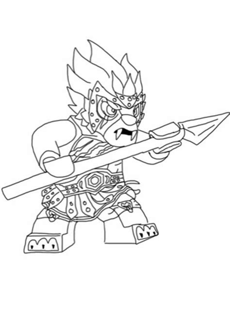 free printable coloring pages lego chima spear coloring pages lego chima longtooth steady with