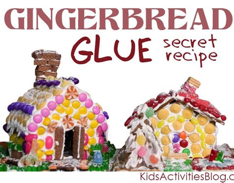 frosting for gingerbread house the best gingerbread house glue kids activities