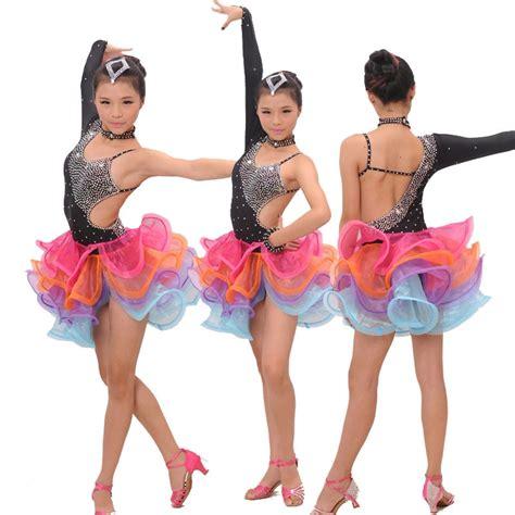 Dress Shanghai Salsa dress rumba samba clothing salsa