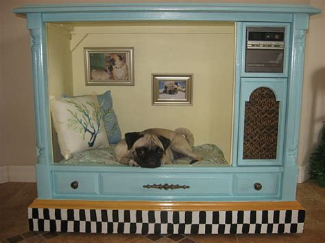 old dresser into dog bed 9 fabulous pet bed ideas from old furniture diy cozy cottage