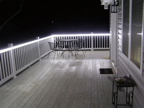 patio led lights light your porch with led lights home designs project