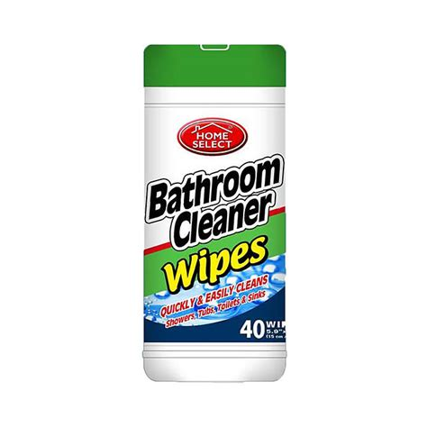 No Wipe Shower Cleaner by Bathroom Cleaner Wipes 35ct Canister Home Select