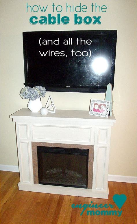 25 best ideas about hide cable box on hiding