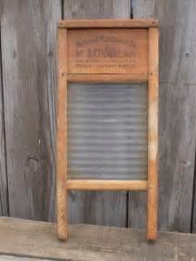 antique glass washboard national domestic science treasury