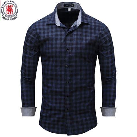 Plaid Casual Shirt new arrival men s shirt sleeve plaid shirts mens