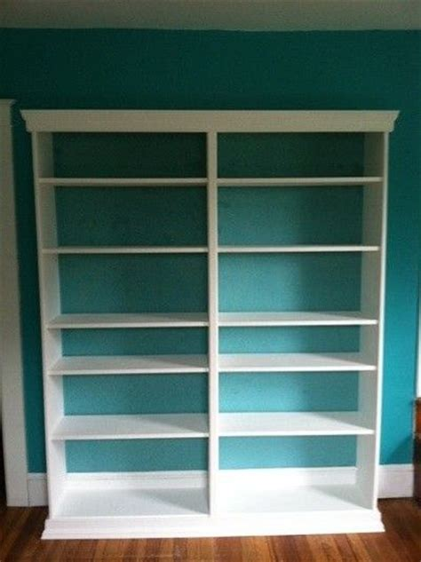ikea billy bookcase hack molding and trim for the home