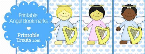 free printable angel bookmarks free printable angel bookmarks printable treats com