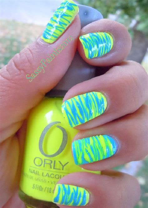 easy nail art bright colors perfect summer nail art ideas interestingfor me