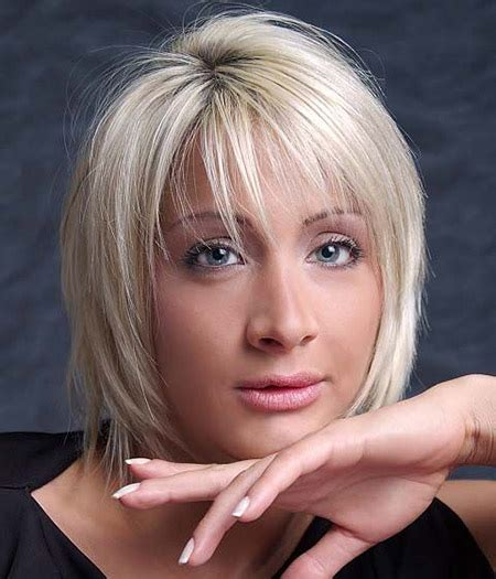 hairstyles for with straight bob haircuts with bangs short hairstyles 2016