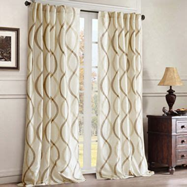 jcpenney bedroom curtains serendipity rod pocket back tab curtain panel jcpenney