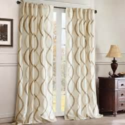 serendipity rod pocket back tab curtain panel jcpenney