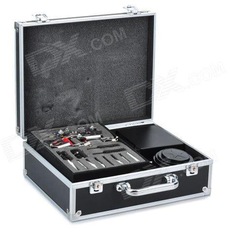 tattoo gun case professional 2 gun tattoo machine complete kit set with