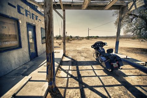 Route 66 Harley Davidson Street Glide   The Lost Adventure