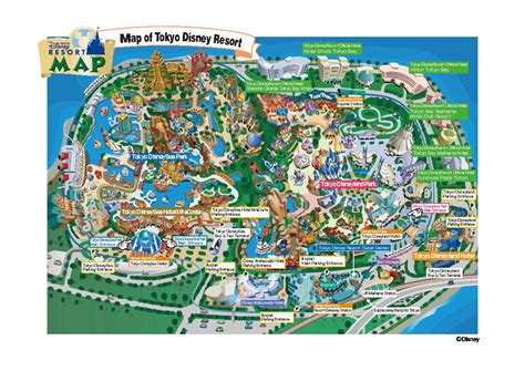 Sections Of Tokyo by Dumb And The Magic Of Disneyland Tokyo Japan