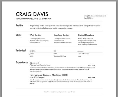 resume tools free excel templates