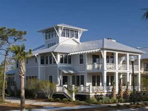 House Plans With Wrap Around Porches Coastal Beach House Plans Coastal Cottage House Plans