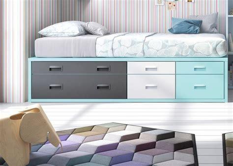 cama compacta juvenil cajones camas compactas con cajones compacta con tres cajones y
