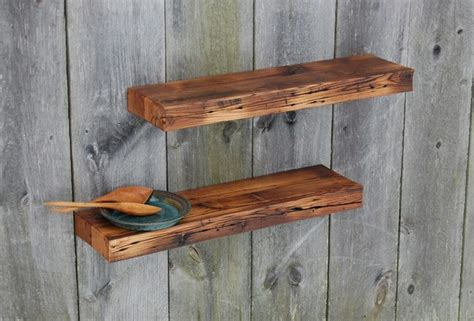 two barn wood floating shelves 35 quot x 9 25 quot kitchen bath