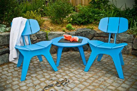 Furniture Design Ideas Magnificent Blue Outdoor Furniture Eco Outdoor Furniture