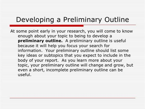 Preliminary Section In Report Writing by Writing A Preliminary Report Essaywriterslogin Web Fc2