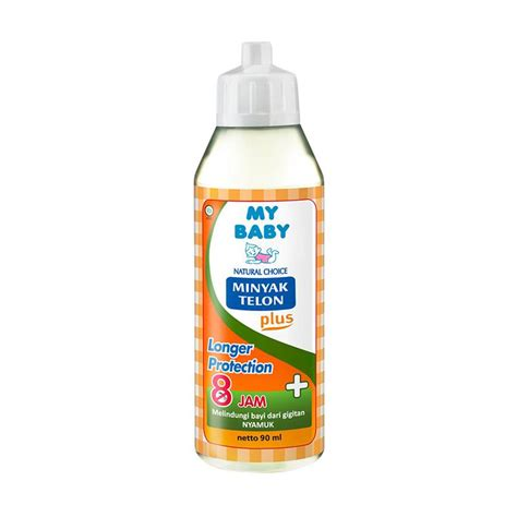 My Baby Minyak Telon Plus 8 Jam by Jual My Baby Minyak Telon Plus Longer Protection 90 Ml