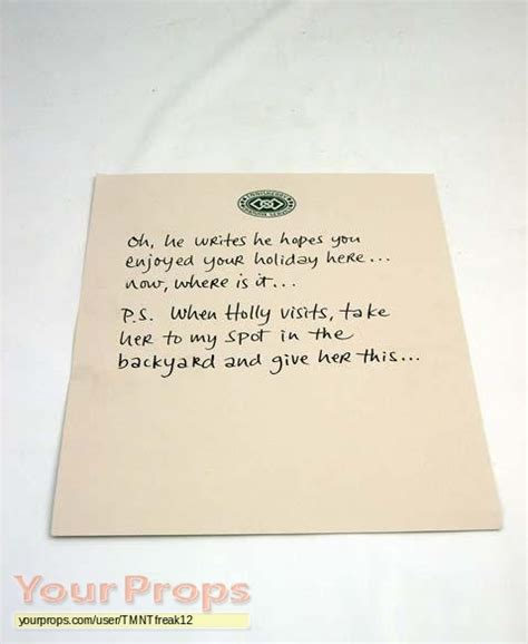 Ps I You Ireland Letter