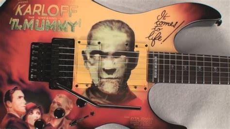 kirk hammett mummy guitar decal kirk hammett mummy guitar www pixshark images