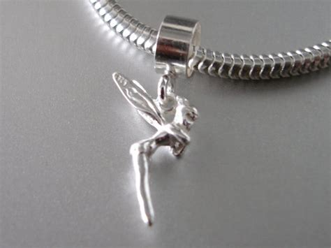 tinkerbell 3d sterling silver storybook by silvercharms