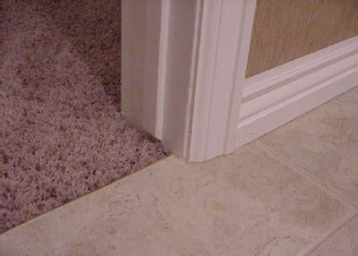 Carpet To Tile Transition Doorway   Carpet Vidalondon